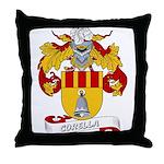 Corella Family Crest Throw Pillow