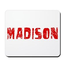 Madison Faded (Red) Mousepad