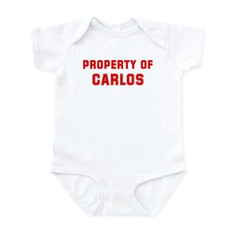 Property of CARLOS Infant Bodysuit