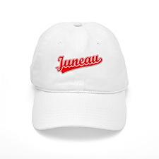 Retro Juneau (Red) Baseball Cap