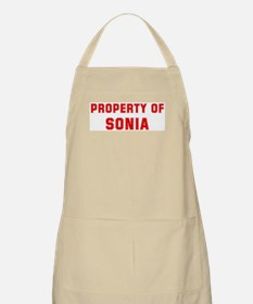 Property of SONIA BBQ Apron