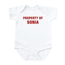 Property of SONIA Infant Bodysuit