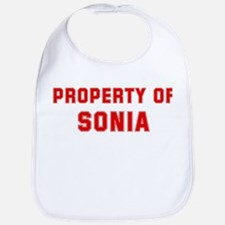 Property of SONIA Bib