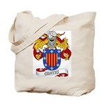 Cortes Family Crest Tote Bag