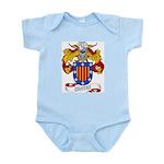 Cortes Family Crest Infant Creeper