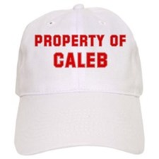 Property of CALEB Baseball Cap