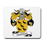 Corvera Family Crest Mousepad
