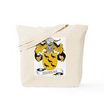 Corvera Family Crest Tote Bag