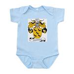 Corvera Family Crest Infant Creeper