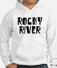 Rocky River Faded (Black) Hoodie