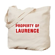 Property of LAURENCE Tote Bag