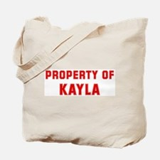 Property of KAYLA Tote Bag