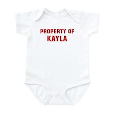 Property of KAYLA Infant Bodysuit