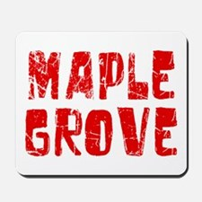 Maple Grove Faded (Red) Mousepad