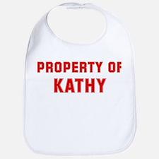 Property of KATHY Bib
