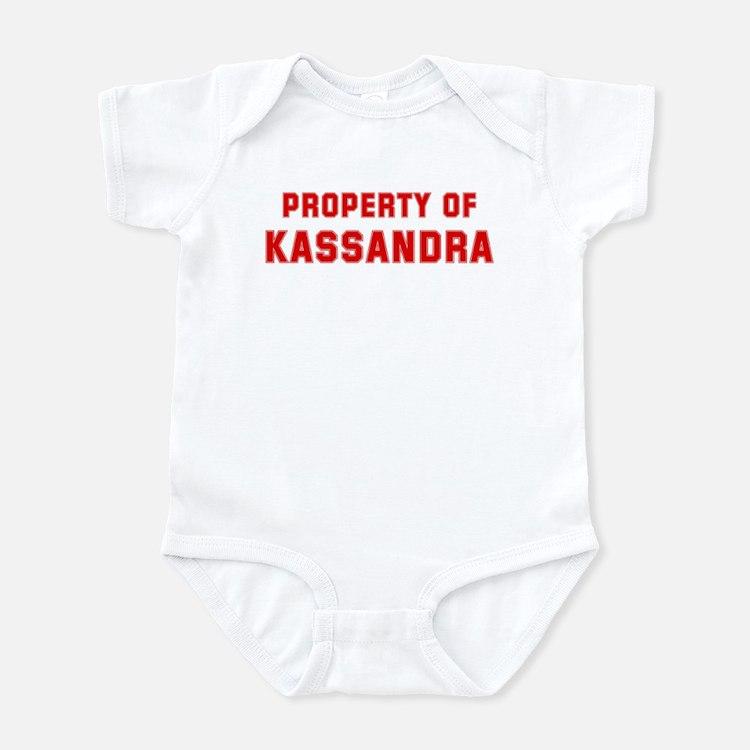 Property of KASSANDRA Infant Bodysuit