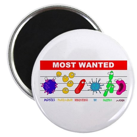 Most Wanted Poster Magnet