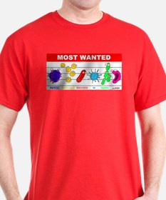 Most Wanted Poster T-Shirt