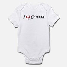 I Love Canada Infant Creeper