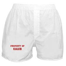 Property of KALEB Boxer Shorts