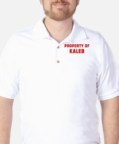 Property of KALEB T-Shirt