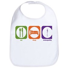Eat Sleep Osteopathy Bib
