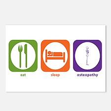 Eat Sleep Osteopathy Postcards (Package of 8)