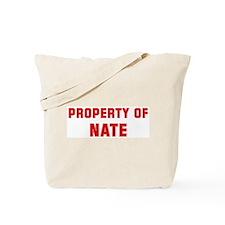 Property of NATE Tote Bag