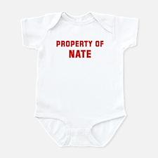 Property of NATE Infant Bodysuit