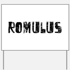 Romulus Faded (Black) Yard Sign