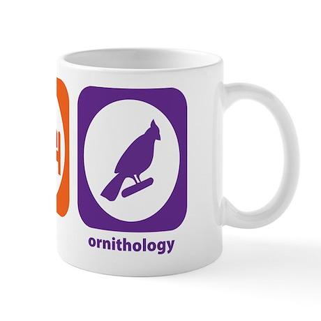 Eat Sleep Ornithology Mug