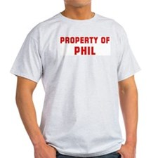 Property of PHIL T-Shirt