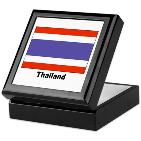 Thailand Thai Flag Keepsake Box