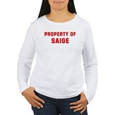 Property of SAIGE T-Shirt