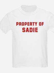 Property of SADIE T-Shirt
