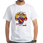 Curiel Family Crest White T-Shirt