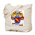 Curiel Family Crest Tote Bag