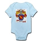 Curiel Family Crest Infant Creeper
