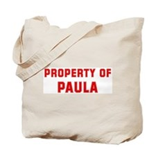 Property of PAULA Tote Bag