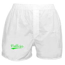 Vintage Vallejo (Green) Boxer Shorts
