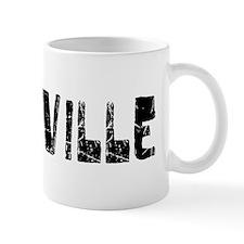 Roseville Faded (Black) Mug