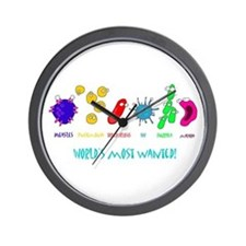 Most Wanted Wall Clock