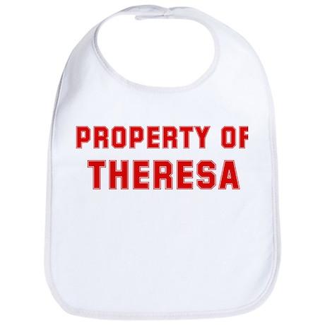 Property of THERESA Bib