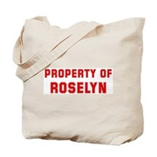 Property of ROSELYN Tote Bag