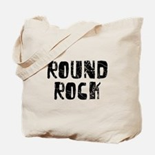 Round Rock Faded (Black) Tote Bag