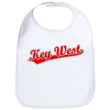 Retro Key West (Red) Bib