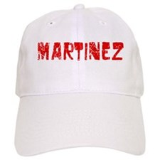 Martinez Faded (Red) Baseball Cap