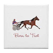 Born to Trot Tile Coaster