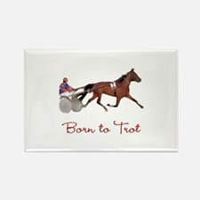 Born to Trot Rectangle Magnet