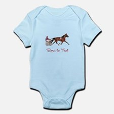 Born to Trot Infant Bodysuit